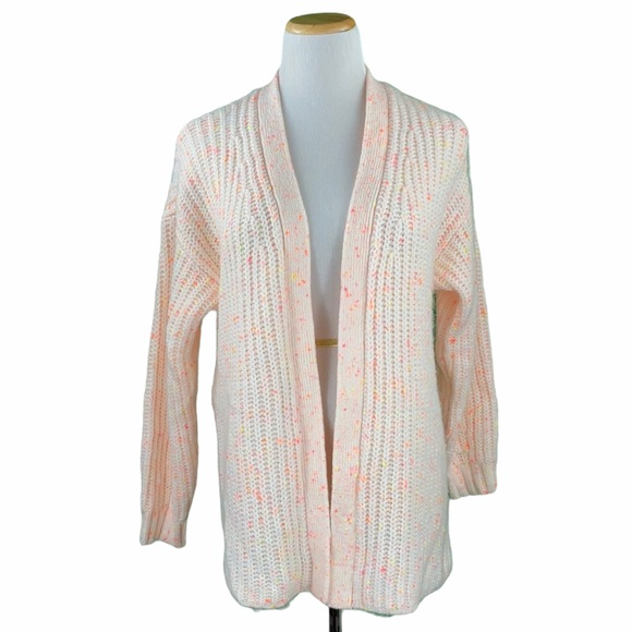 American Eagle Chunky Open Front Knit Cardigan